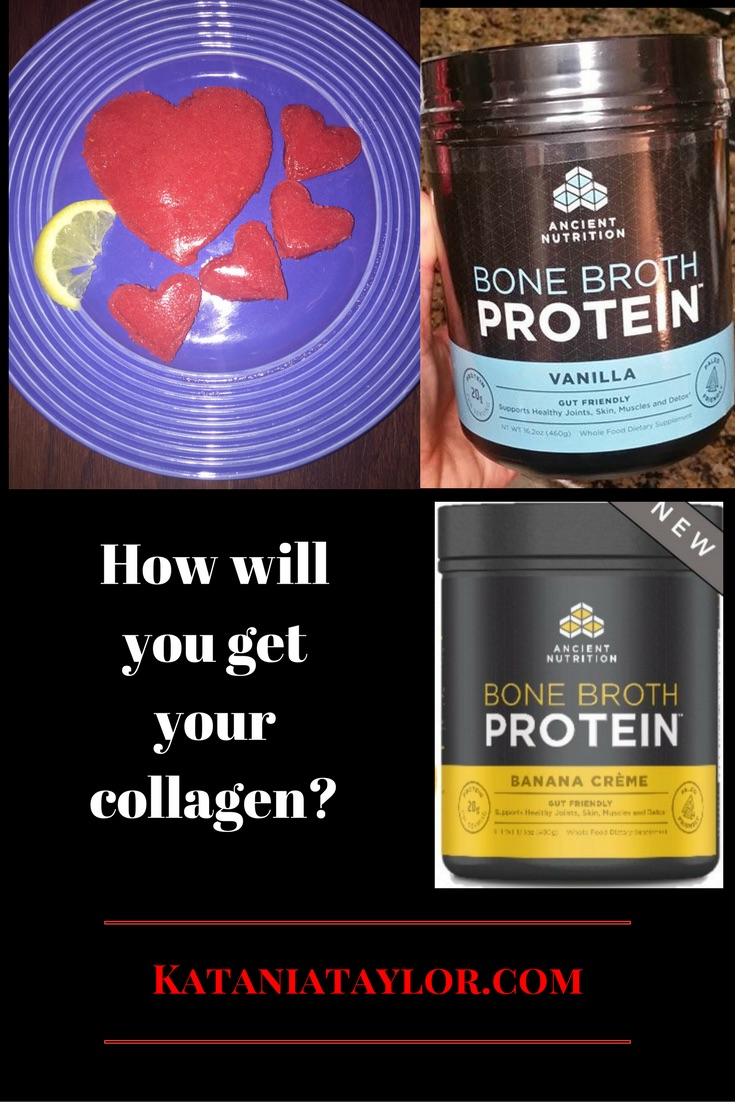 Collagen, BoneBroth, Bone Broth Protein Powder, And Multi-Vitamins I Recommend